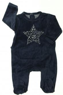 Habit de bébé d'occasion Pyjama/Dors-bien en velours