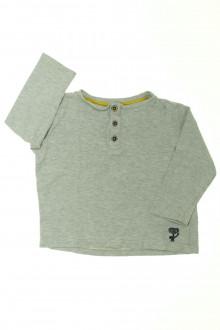vêtement enfant occasion Tee-shirt manches longues DPAM 3 ans DPAM
