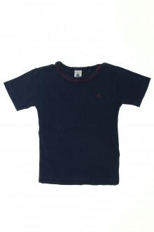 vêtements occasion enfants Tee-shirt manches courtes Petit Bateau 4 ans Petit Bateau