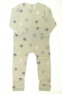 vetements enfants d occasion Pyjama en coton sans pieds étoilé Vertbaudet 3 ans Vertbaudet
