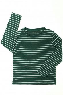 vêtements occasion enfants Tee-shirt manches longues rayé Vertbaudet 8 ans Vertbaudet