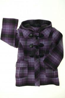 vetements enfants d occasion Duffle-coat à carreaux Sans marque 5 ans Sans marque