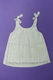 vetements enfants d occasion Débardeur argenté Zara 8 ans Zara