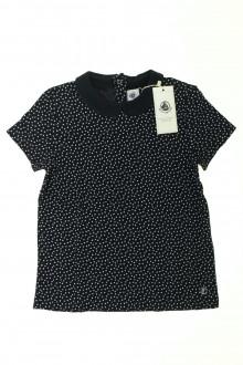 vêtements d occasion enfants Tee-shirt manches courtes à pois - NEUF Petit Bateau 8 ans Petit Bateau