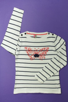 vetements d occasion enfant Pull rayé Orchestra 10 ans Orchestra