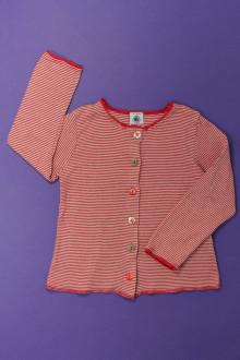 vêtements occasion enfants Tee-shirt manches longues boutonné Petit Bateau 4 ans Petit Bateau