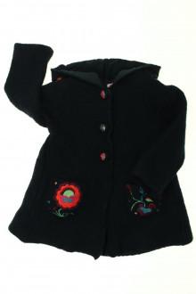 vetement occasion enfants Manteau en laine bouillie DPAM 4 ans DPAM