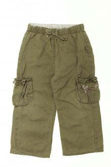 vetement d occasion enfant Pantalon en lin Cadet Rousselle 3 ans Cadet Rousselle