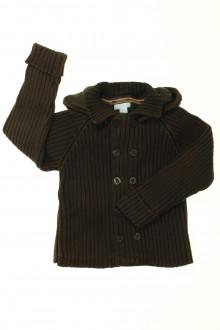 vêtements occasion enfants Cardigan doublé Obaïbi 3 ans Obaïbi