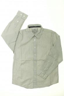 vetement enfant occasion Chemise à fines rayures CFK 8 ans CFK