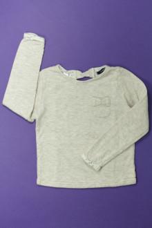 vetement occasion enfants Tee-shirt manches longues doublé Okaïdi 6 ans Okaïdi