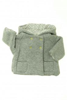 vêtements bébés Burnou molletonné Obaïbi 1 mois Obaïbi