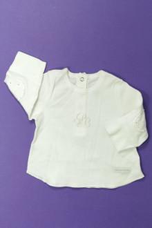 vetements d occasion bébé Tee-shirt manches longues Petit Bateau 1 mois Petit Bateau