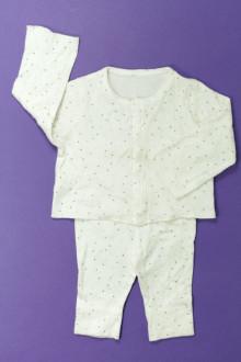 habits bébé occasion Ensemble tee-shirt et legging Petit Bateau 1 mois Petit Bateau