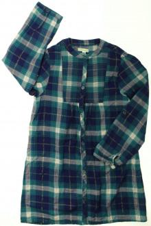 vêtements occasion enfants Robe manches longues à carreaux Vertbaudet 10 ans Vertbaudet