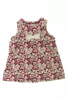 Habits pour bébé Robe fleurie en velours H&M 1 mois H&M