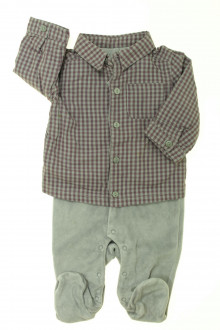 vetement bébé d occasion Pyjama/Dors-bien en velours