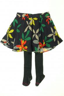 vêtements occasion enfants Jupe fleurie et collants DPAM 4 ans DPAM