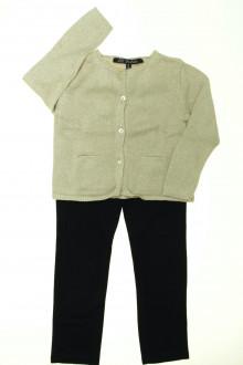 vêtements occasion enfants Ensemble pantalon et gilet Lili Gaufrette 4 ans Lili Gaufrette