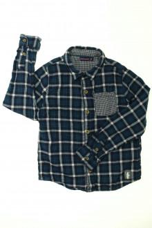 vêtement enfant occasion Chemise à carreaux doublée Sergent Major 8 ans Sergent Major