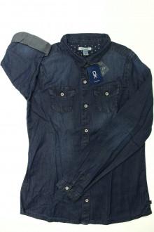 vetement d occasion enfant Chemise en jean - 14 ans - NEUF Okaïdi 12 ans Okaïdi