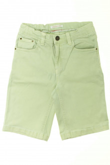 vetement enfant occasion Bermuda en jean de couleur Monoprix 8 ans Monoprix