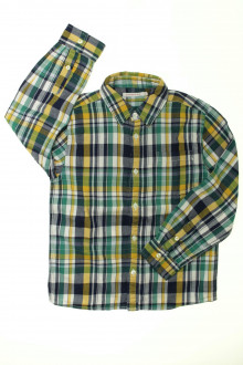 vetement marque occasion Chemise à carreaux Monoprix 8 ans Monoprix