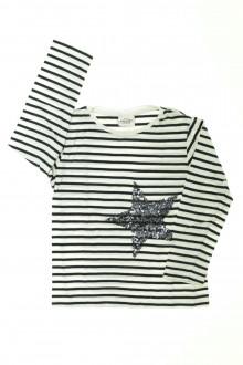 vetement occasion enfants Tee-shirt manches longues rayé Tape à l'œil 4 ans Tape à l'œil