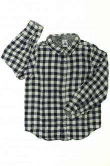vêtements occasion enfants Chemise doublée à carreaux Petit Bateau 6 ans Petit Bateau
