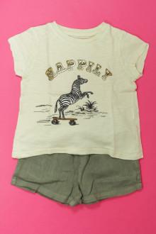 vêtements occasion enfants Ensemble short et tee-shirt Monoprix 3 ans Monoprix
