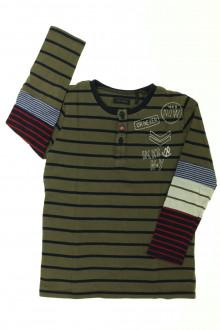 vetement occasion enfants Tee-shirt manches longues rayé IKKS 4 ans IKKS