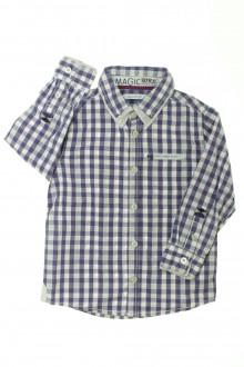vetement d'occasion Chemise à carreaux Okaïdi 3 ans Okaïdi