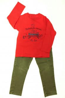 vetement occasion enfants Ensemble pantalon et tee-shirt La Compagnie des Petits 3 ans La Compagnie des Petits