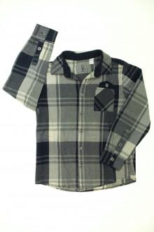 vêtements occasion enfants Chemise à carreaux Okaïdi 8 ans Okaïdi