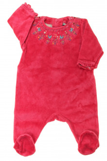 vêtements bébés Pyjama/Dors-bien en velours brodé Sergent Major 3 mois Sergent Major