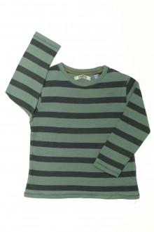 vetement enfants occasion Tee-shirt rayé manches longues Okaïdi 5 ans Okaïdi