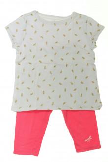 vêtements occasion enfants Ensemble tee-shirt et legging Vertbaudet 4 ans  Vertbaudet