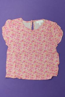 vetements d occasion enfant Tee-shirt manches courtes fleuri C de C 4 ans C de C