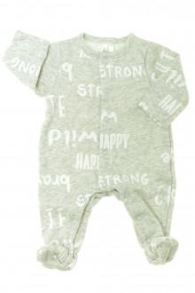 habits bébé Pyjama/Dors-bien en molleton