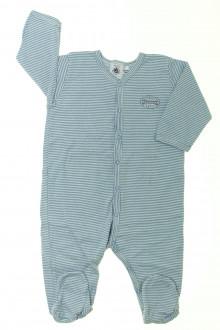habits bébé Pyjama/Dors-bien en coton milleraies Petit Bateau 6 mois Petit Bateau