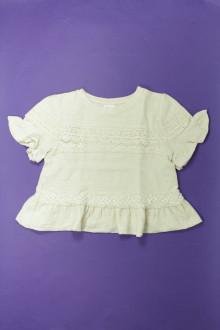 vetement occasion enfants Blouse crochetée Zara 9 ans Zara