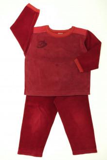 vetement d'occasion Pyjama bi-matière Petit Bateau 3 ans Petit Bateau