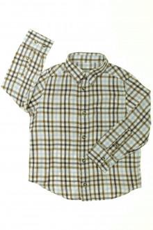 vêtements occasion enfants Chemise à carreaux Cyrillus 4 ans Cyrillus
