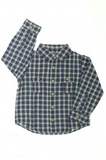 vetement enfant occasion Chemise à carreaux Cyrillus 3 ans Cyrillus