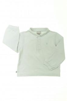 vêtements occasion enfants Polo manches longues Cyrillus 3 ans Cyrillus