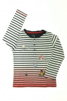 vetement occasion enfants Tee-shirt rayé manches longues La Compagnie des Petits 6 ans La Compagnie des Petits