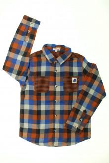 vetement marque occasion Chemise à carreaux DPAM 8 ans DPAM