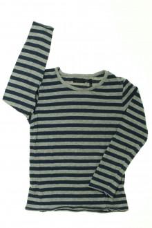vêtements occasion enfants Tee-shirt rayé manches longues IKKS 5 ans IKKS