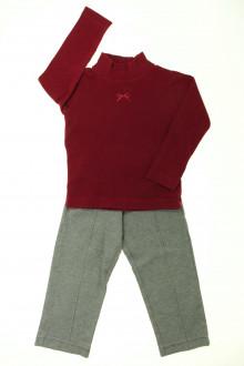 vêtements d occasion enfants Ensemble legging et sous-pull Lili Gaufrette 3 ans Lili Gaufrette