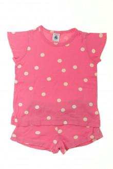 vêtements occasion enfants Pyjama court à pois Petit Bateau 3 ans Petit Bateau